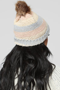 Blocked In All Angles Hat - Rose