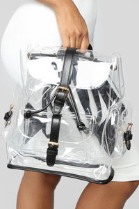 """Back To You"" Backpack - Clear"