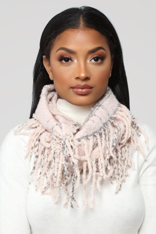 Loving You For Infinity Scarf - Blush