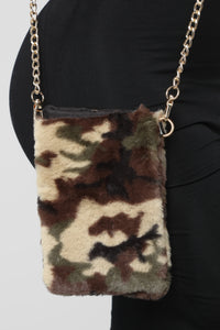 All Fur Love Crossbody Bag - Camouflage