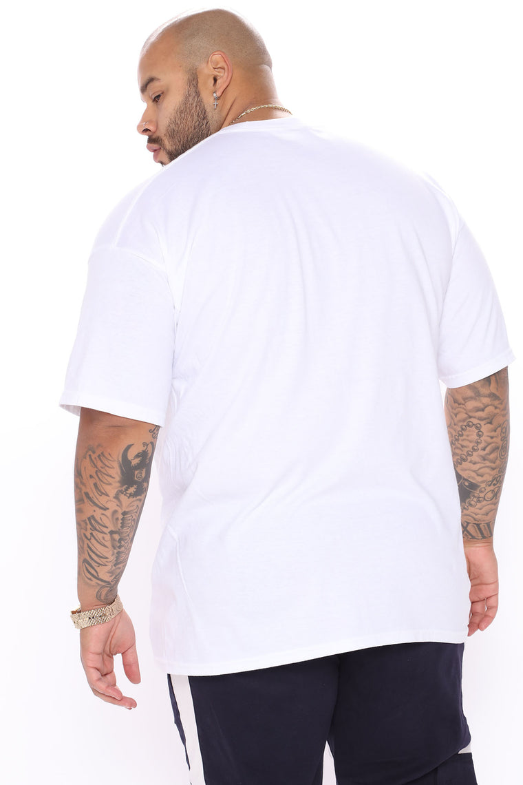 Dream And Believe Short Sleeve Tee - White/combo