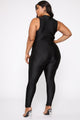 Sleepless Town Jumpsuit - Black
