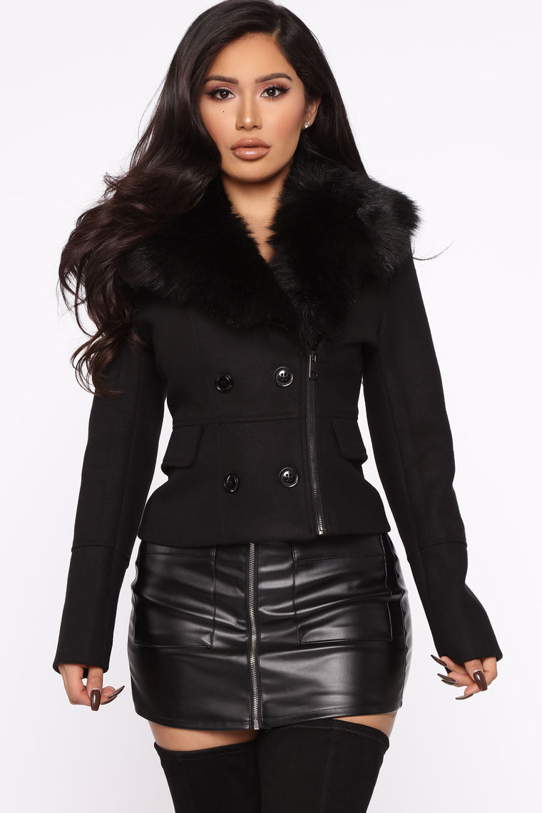 Winter In Vermont Jacket   Black by Fashion Nova