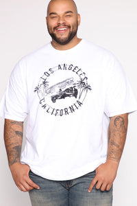 Low Rider Short Sleeve Tee - White/Black Angle 7