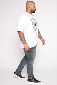Low Rider Short Sleeve Tee - White/Black Angle 10