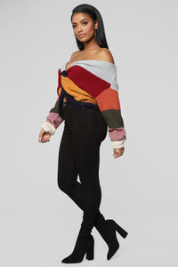 What You Want Sweater - MultiColor Angle 4