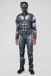Black Panther Costume - Black/combo