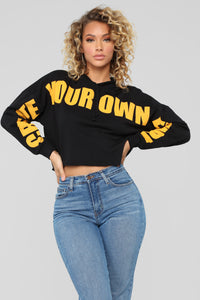 Create Your Own Future Sweatshirt - Black
