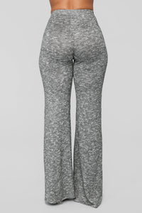 Listen To Your Heart Pant Set - Heather Grey Angle 7