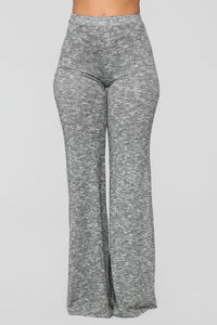 Listen To Your Heart Pant Set - Heather Grey Angle 3