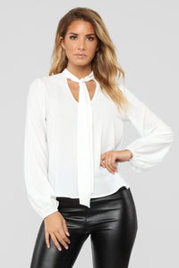 Without You Blouse - Ivory