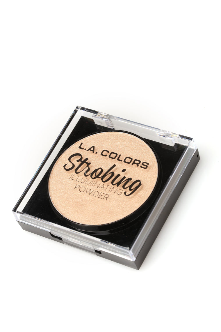 LA Colors Strobing Illuminating Powder – Champagne