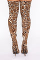 Call Me Fierce Heeled Boots - Leopard