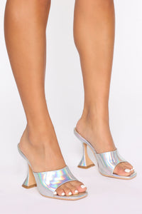 Flare It Out Heels - Multi Color