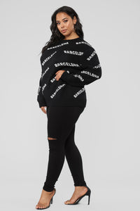 Barcelona Sweater - Black