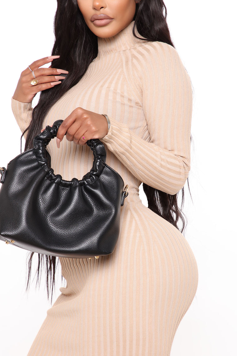 Living Lovely Handbag - Black