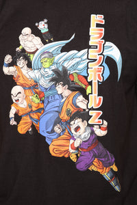 Dragon Ball Z Short Sleeve Tee - Black/combo Angle 6