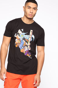Dragon Ball Z Short Sleeve Tee - Black/combo Angle 1