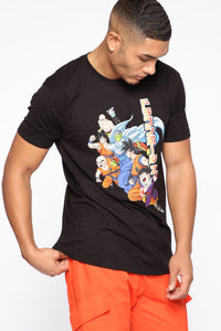 Dragon Ball Z Short Sleeve Tee - Black/combo Angle 3