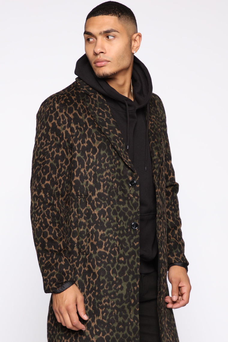 Jackson Car Coat - Leopard