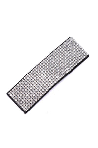 Bring It On Hair Clip - Silver Angle 2