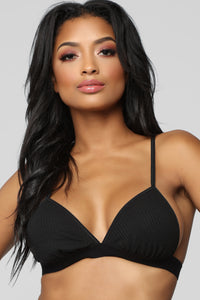 Between Us Bralette - Black