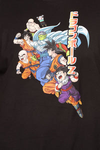 Dragon Ball Z Short Sleeve Tee - Black/combo Angle 12