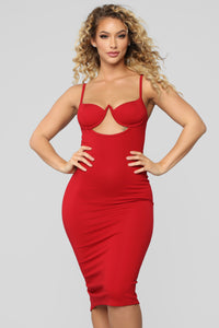 Heart Of Stone Dress - Red
