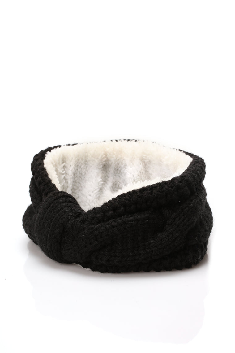Cold All The Time Headband - Black
