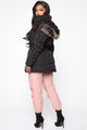 On The Move Puffer Jacket - Black
