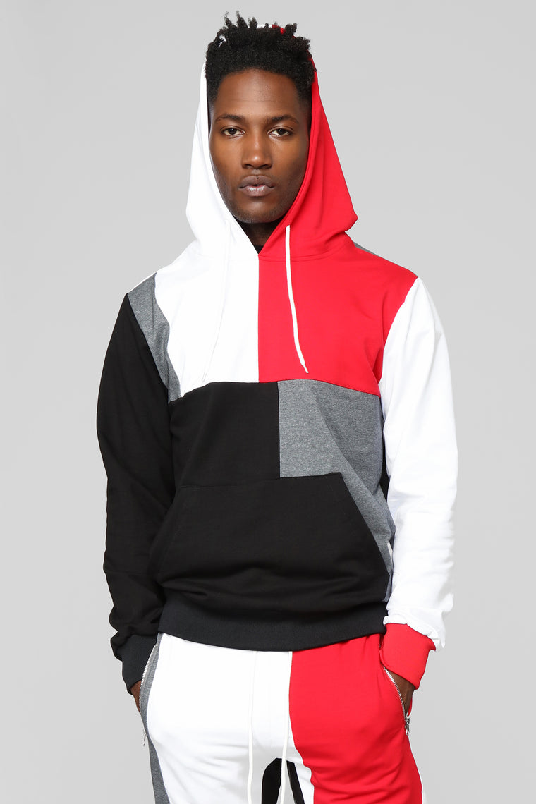 Block Party Hoodie - Grey/Combo