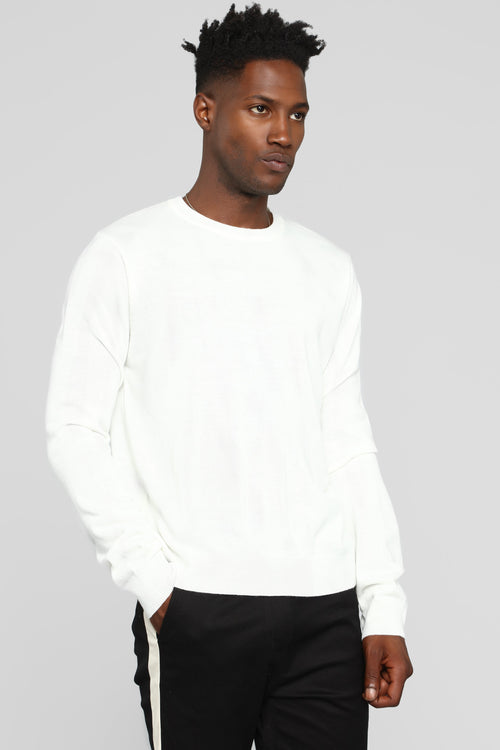 Stewart Pullover Sweater - Cream