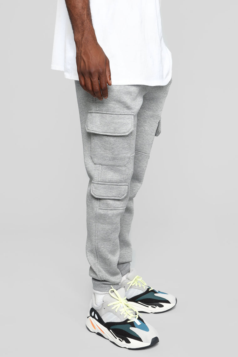 Winson Fleece Jogger Pant - Grey