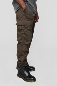 Knox Cargo Pants - Brown Angle 1