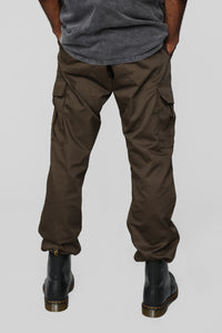 Knox Cargo Pants - Brown Angle 5