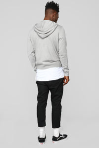 Lenox Pullover Sweater - Heather Grey