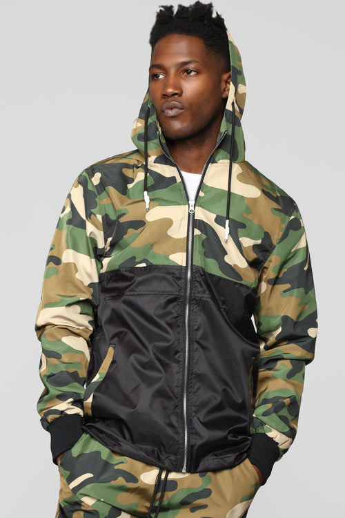 In The Range Jacket - Camo