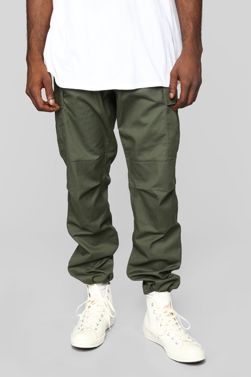 Knox Cargo Pants - Olive
