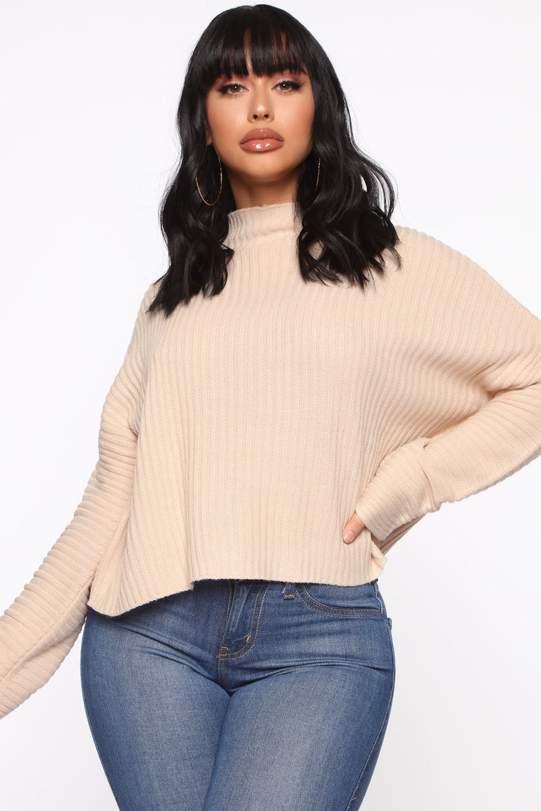 Feeling Nice And Cozy Sweater - Cream