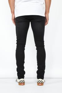 Clinton Super Skinny Jeans - Black
