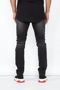 Certain Skinny Jeans - Black Angle 5
