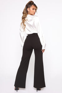 Tabitha Belted Pants - Black Angle 5