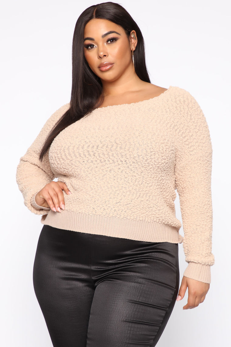 All In The Same Top - Taupe