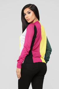 Along With You Sweater - Multicolor