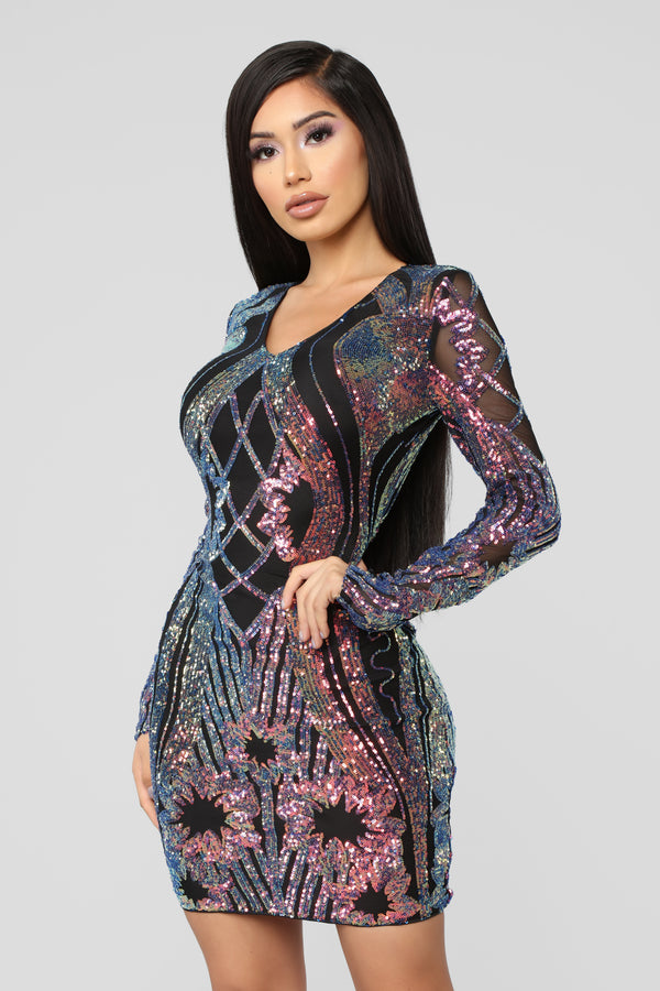 e4afd748157 Only Girl In The World Sequin Dress - Black