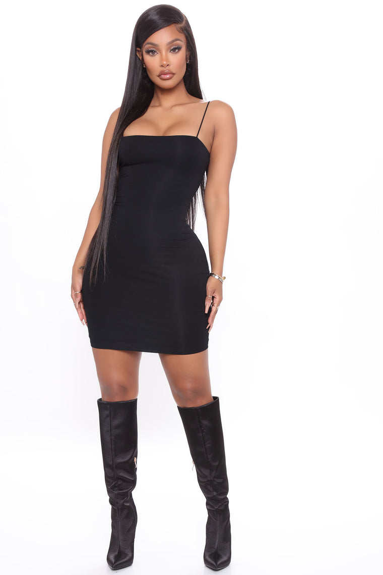 Kiki Mini Dress - Black