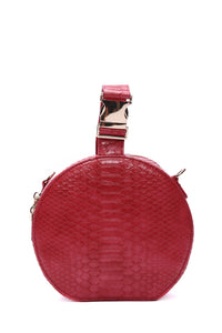 Turn The Dile Crossbody Bag - Red/combo