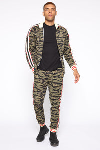 Connor Track Jacket - Camouflage Angle 2