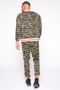 Connor Track Jacket - Camouflage Angle 5