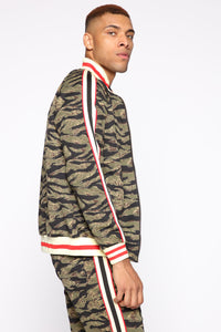Connor Track Jacket - Camouflage Angle 3
